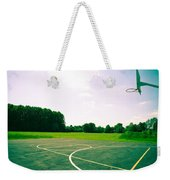 Basketball Court Weekender Tote Bag