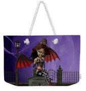 Bat Girl Weekender Tote Bag