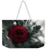 Red Rose Beauty Weekender Tote Bag