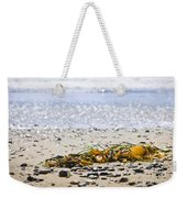 Beach Detail On Pacific Ocean Coast Weekender Tote Bag by Elena Elisseeva