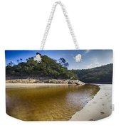 Beach Erosion Weekender Tote Bag