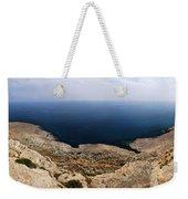 Beautiful View On Mediterranean Sea From Cape Gkreko In Cyprus Weekender Tote Bag