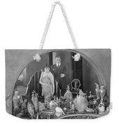 Bedroom Scene, 1920s Weekender Tote Bag