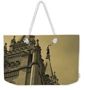Behold I Speak Unto You  Weekender Tote Bag