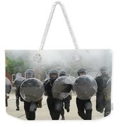 Belgian Infantry Soldiers Training Weekender Tote Bag
