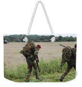 Belgian Paratroopers Red Berets Weekender Tote Bag