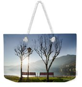 Bench And Trees Weekender Tote Bag