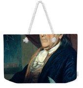 Benjamin Franklin, American Polymath Weekender Tote Bag