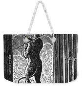 Bewick: Devil Weekender Tote Bag by Granger