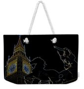 Big Ben And Boudica Weekender Tote Bag