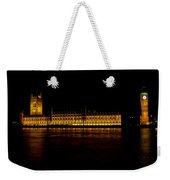 Big Ben And Houses Of Parliament Weekender Tote Bag