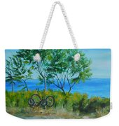 Bikes Waiting				 Weekender Tote Bag