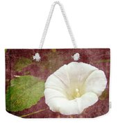 Bindweed - The Wild Perennial Morning Glory Weekender Tote Bag