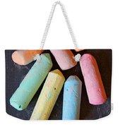 Blackboard Chalk Weekender Tote Bag