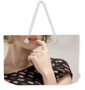 Blond Lady Weekender Tote Bag