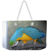 Blue And Yellow Macaw Weekender Tote Bag