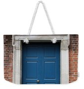 Blue Irish Door Weekender Tote Bag