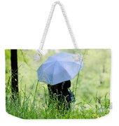Blue Umbrella Weekender Tote Bag