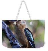 Blue-winged Kookaburra Weekender Tote Bag