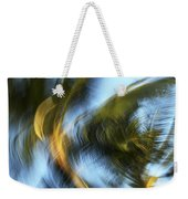 Blurred Palm Trees Weekender Tote Bag