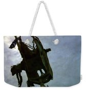 Boat Reflections In Oily Sea Weekender Tote Bag