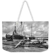 Boats On The Hard Pin Mill Weekender Tote Bag