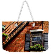Boston House Fragment Weekender Tote Bag
