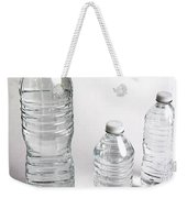 Bottled Water Weekender Tote Bag