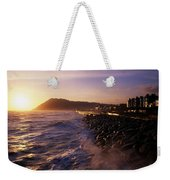 Bray Promenade, Co Wicklow, Ireland Weekender Tote Bag