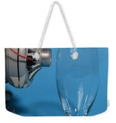 Breaking Glass With Sound Weekender Tote Bag