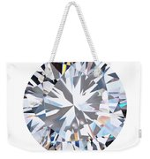 Brilliant Diamond Weekender Tote Bag by Setsiri Silapasuwanchai