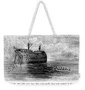 British Prison Ship, 1770s Weekender Tote Bag