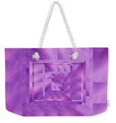 Brushed Purple Violet 11 Weekender Tote Bag
