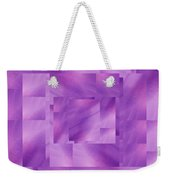 Brushed Purple Violet 3 Weekender Tote Bag