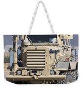 Buffalo Mine Protected Vehicle Weekender Tote Bag