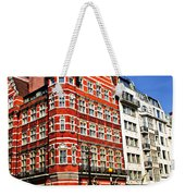 Busy Street Corner In London Weekender Tote Bag by Elena Elisseeva