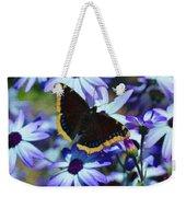 Butterfly In Blue Weekender Tote Bag