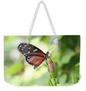 Butterfly Resting Weekender Tote Bag