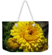 Calendula Named Bon-bon Yellow Weekender Tote Bag