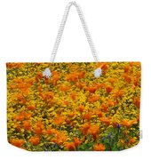 California Poppies And Goldfields Dance Weekender Tote Bag
