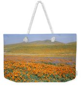 California Poppies Fill A Landscape Weekender Tote Bag