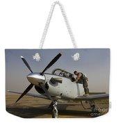 Camp Speicher, Iraq - U.s. Air Force Weekender Tote Bag