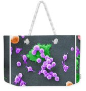 Cancer Cell Death Sequence, Sem Weekender Tote Bag
