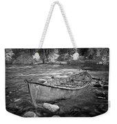 Canoe On The Thornapple River Weekender Tote Bag