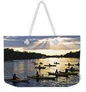 Canoeing Weekender Tote Bag
