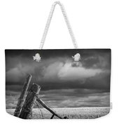 Canola Field In Southern Alberta  Weekender Tote Bag