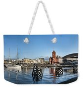 Cardiff Bay Panorama Weekender Tote Bag