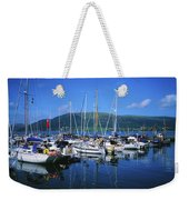Carlingford Yacht Marina, Co Louth Weekender Tote Bag