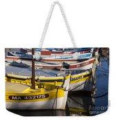 Cassis Boats Weekender Tote Bag