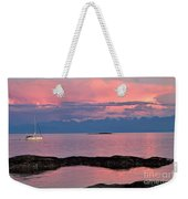 Cattle Point And The Strait Of Juan De Fuca Weekender Tote Bag